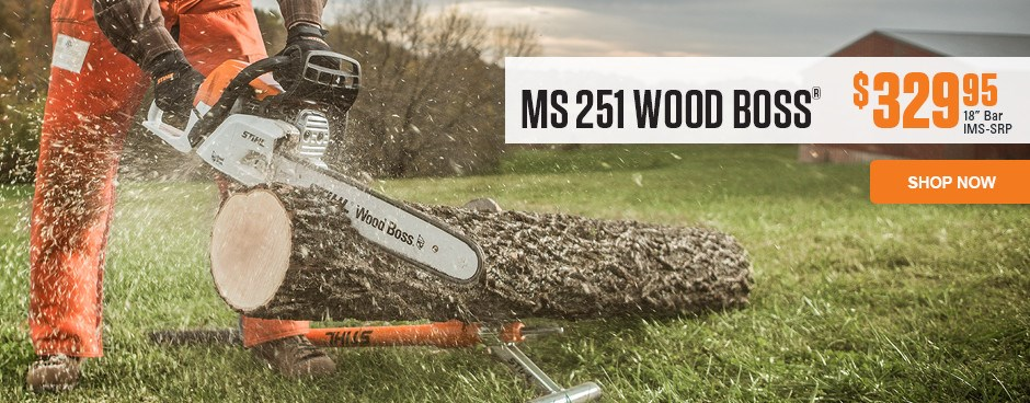 MS 251 WOOD BOSS